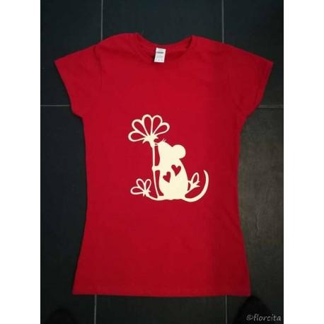 Müsli T-Shirt rot